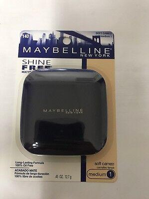 Maybelline Shine Free Oil Control Pressed Powder - Soft Cameo - Medium 1 -