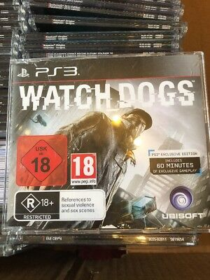 Used, PS3 Watch Dogs Promo Game (Full Promotional Game) Ubisoft PAL for sale  Shipping to Nigeria