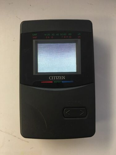 Citizen - DS777 2.2 In LCD Screen Color, Portable TV