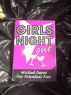 Bachelorette Girl Party Favor Girls Night Out Cards Dare Party Game for Women
