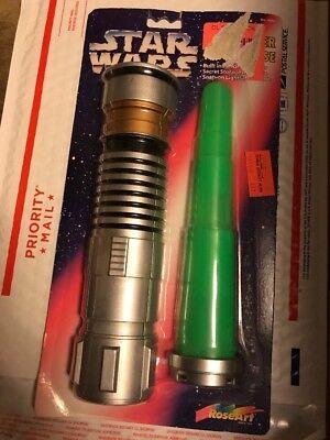 Light Saber Pencils (LIGHT SABER PENCIL CASE '97 vtg Star Wars Pencil Sharpener Storage Space)