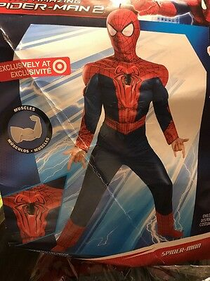 Spider-Man Reflective Patch Costume Boy L(10-12)