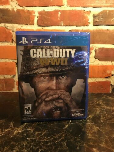 $41.87 - Call of Duty: WWII WW2 Sony PS4 PlayStation 4, FREE AND FAST SHIPPING