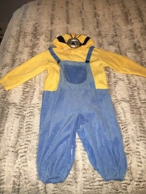 Children's Minion Halloween Costume (DESPICABLE ME MINION CHILD HALLOWEEN COSTUME Toddler)