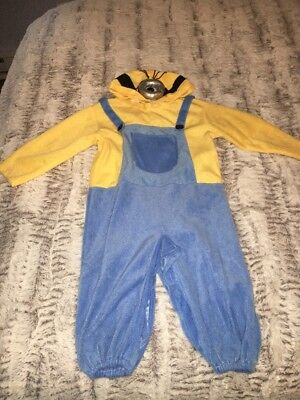DESPICABLE ME MINION CHILD HALLOWEEN COSTUME Toddler 3T - Despicable Me Minion Baby Halloween Costume