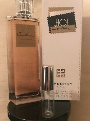 Hot Couture Givenchy  5ml Women's PERFUME SAMPLE