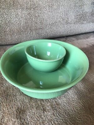 Southern Living Green Chip And Dip Bowl Set Taste Of Home