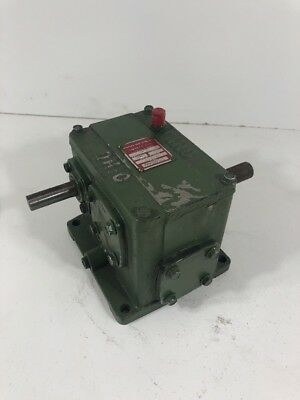 Ohio Gear D-1 Speed Reducer Ratio 1125 Assembly A Shaft Drive
