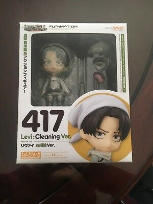 Cleaning Levi Version 417 Attack On Titan Good Smile Company Anime Figure