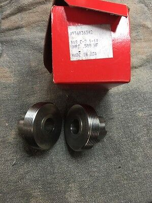 Set Of Reed B18 C-2 Thread Rolling Dies 1-14 Unrs .500wf Free Shipping N