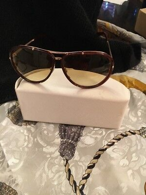 AUTH. TOM FORD SUNGLASSES BROWN/GOLD