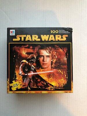 2005 Star Wars Luke Anakin & Darth Vader 100 piece jigsaw MB PUZZLE NIB