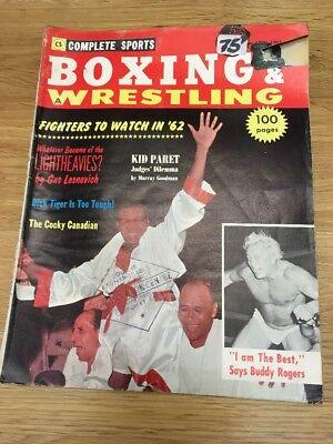Boxing And Wrestling 1962 Magazine