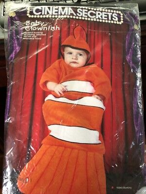 Clownfish costume for baby - Halloween Costumes For Infants 0 3 Months