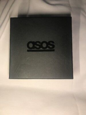 Asos Black Cotton Filled Box Asos Jewelry Gift Box 4x4x1-12 Preowned