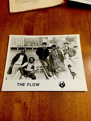 "Press Photo ""The Flow"" Promo Picture Music Collectors Black N White Collectible"