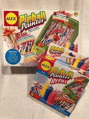 Refill Alex Toys (ALEX Toys Artist Studio Pinball Painter Splatter Paint Kit & Refill NEW SEALED)