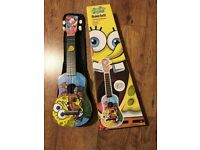 Spongebob Squarepants Ukulele + Gigbag + Plectrum + Pitch Pipes IN BOX
