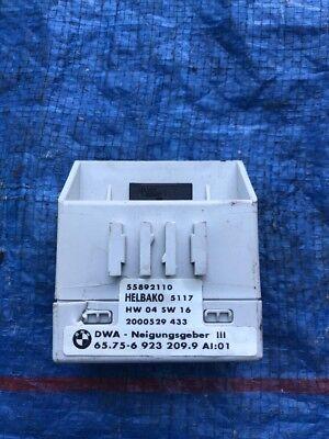 BMW 3 X5 Series E46 E53 Alarm System Inclination Indicator Module Unit 6923209