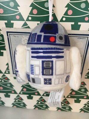 R2-D2 Star Wars Suave Disney Árbol de Navidad Ornamento Marca Nuevo Con...