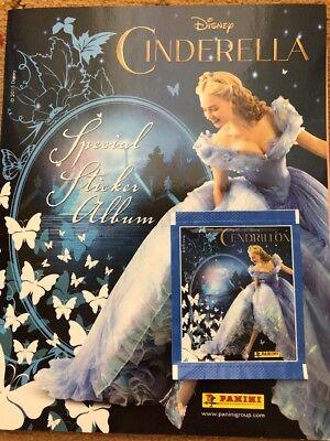Disney Cinderella Sticker Album And Stickers