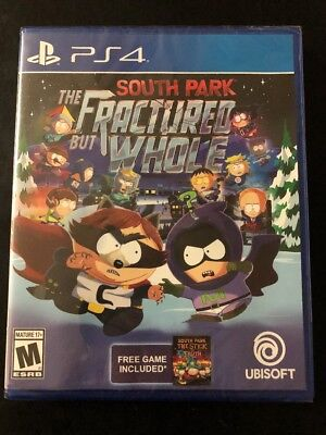 South Park  The Fractured But Whole  Sony Playstation 4  2016  Ps4 Brand New