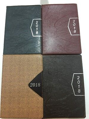 2018 Calendar Planner Appointment Book Daily Agenda Tabbed Pages New