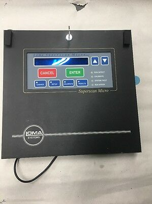 Loma Superscan Micro 401101 Hmi Display Board