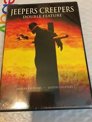 Jeepers Creepers Double Feature  Dvd  2009  1 2 Horror Films Jonathan Breck New