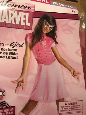 Woman Of Marvel Spider-Girl Pink Costume Girl M(8-10)