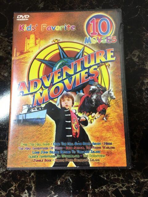 Kids' Favorite Adventure (5-DVD) 10 Films! Rescue From Gailligan's Island, NEW!
