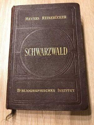Meyers Reisebücher, Schwarzwald , Bibliographisches Institut 1912
