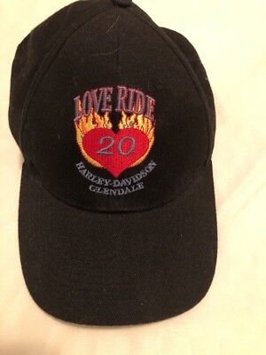Harley Davidson Love Ride 20 Hat - New