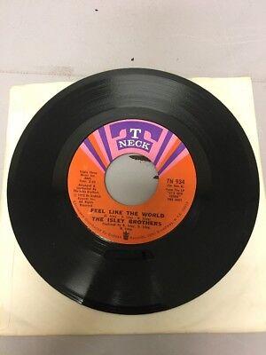 The Isley Brothers   Lay Away   Feel Like The World Vinyl 7  45   T Neck   Tn 9
