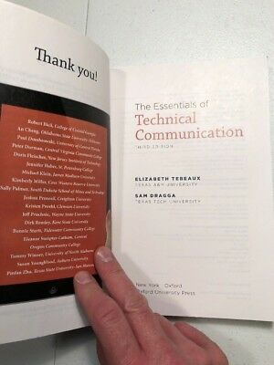 The Essentials of Technical Communication 3rd Edition Instructor's (The Essentials Of Technical Communication 3rd Edition)
