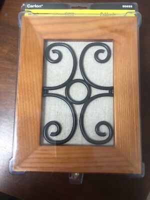 Carlon Wired Door Bell Chime Wood Wire Inlay Decorative SS689 Thomas & - Decorative Doorbells