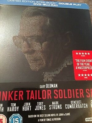 Tinker Tailor Soldier Spy Limited Edition SteelBook (Region B Blu Ray)