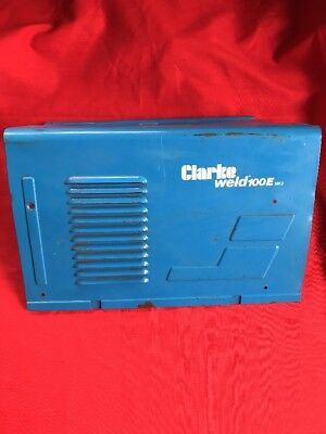 Clarke Mig Welder - Blue Side Panel - Parts Repair Weld 100e Mk2 - Xe Dents