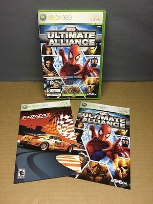 Ac  Marvel Ultimate Alliance Xbox 360 Game  Complete   Free Us Shipping