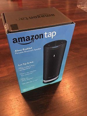 BRAND NEW! Amazon Tap - Alexa-Enabled Portable Bluetooth Speaker
