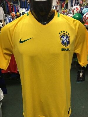 Nike Men s Brazil Home Soccer Jersey d04137e5f1cdb