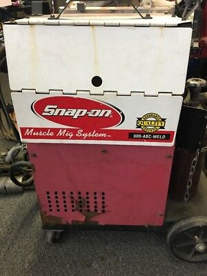 Snap-on Mig Welder Mm140sl A-zzzzzzzz