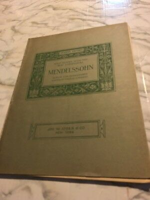 Mendelssohn Album for Piano Half hours with the Best COmposers Paolo Gallico