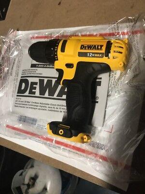 Dewalt DCD710 12V Li-Ion 3/8in Cordless Compact Drill Driver New uses DCB120