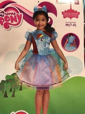 My Little Pony Rainbow Dash Deluxe Costume Child Medium 7–8
