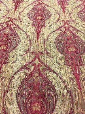 Valdese Weavers Damask Jacquard  Chenille Tapestry  Upholstery Fabric