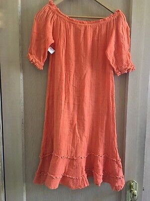 New Jens Pirate Booty Free People Lofty Gauze Dress Cover Up S