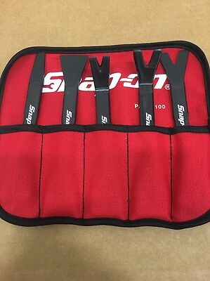 Snap On 5 Pc Non Marring Pry Tool Set. Specialty Non Metal Composite Material