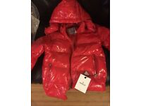 Men's Moncler Maya Jacket Red Size 3 (M/L) *BRAND NEW* With Receipt.