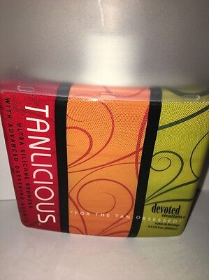 Tanlicious By Devoted Creations - Ultra Silicone Bronzer 8.5 Oz New Get Tan FAST ()